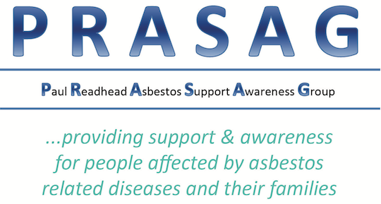 PRASAG .... providing support and awareness for victims of asbestos and their families