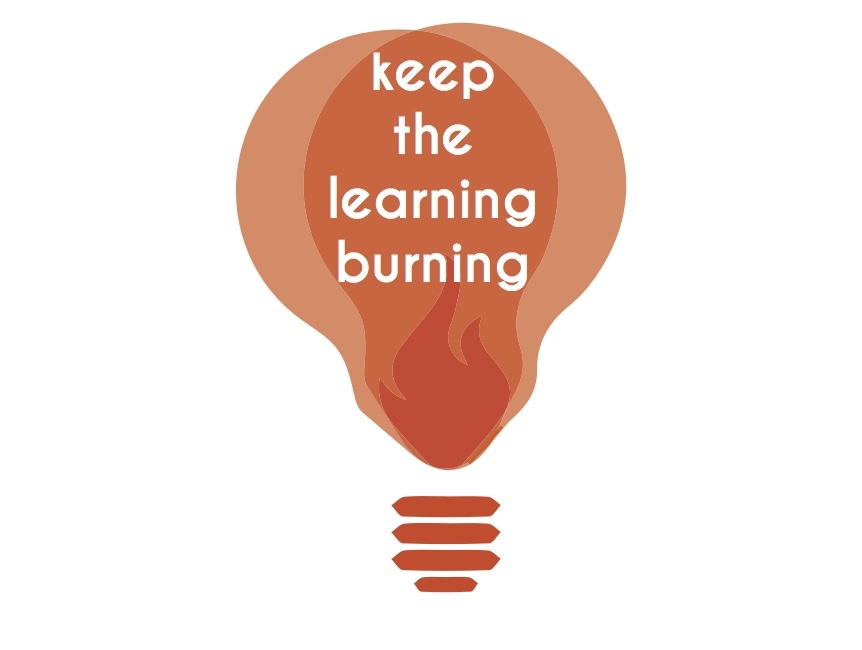 keep the learning burning