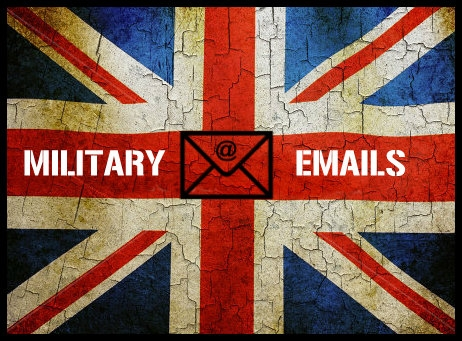 MILITARY EMAILS